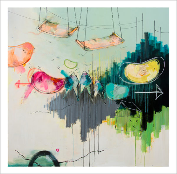 Casper Eliasen, Swing art print 50 x 50 cm. 995 kr.