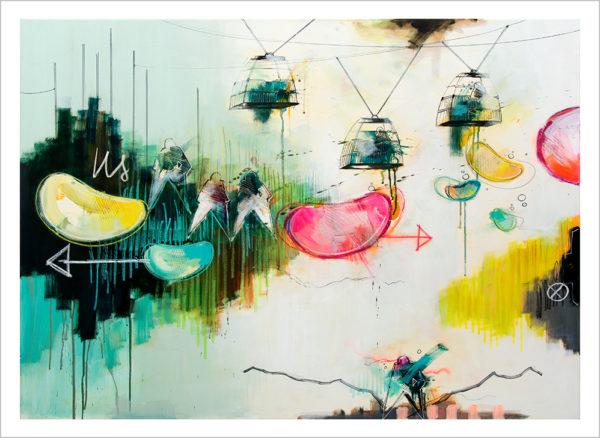 Casper Eliasen In The Air Art Print 50 x 70 cm 1.195 kr.