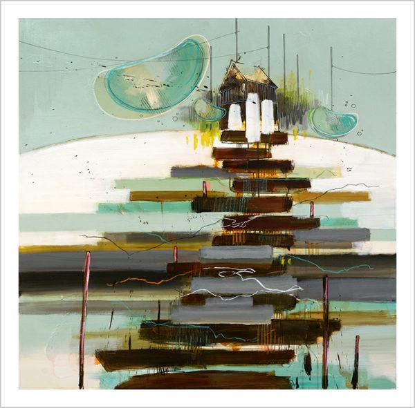Casper Eliasen, Art Print, Magic Stairway