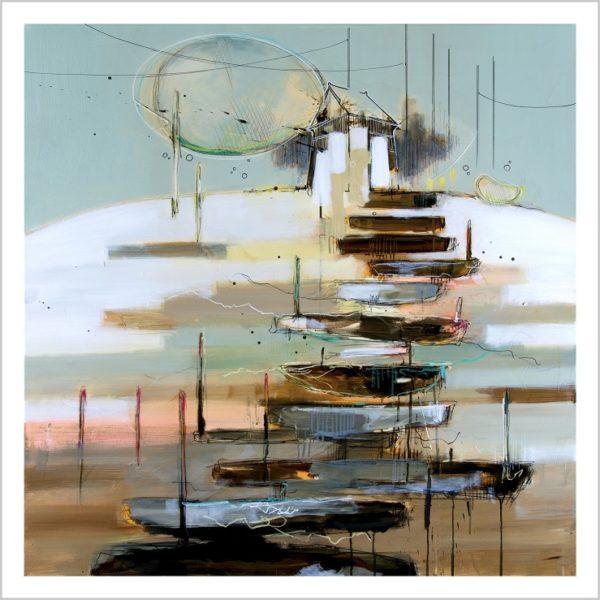 Casper Eliasen, House Of Hope, Art Print