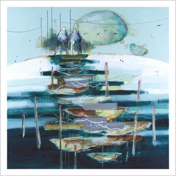 Casper Eliasen, We Two Are One Art Print