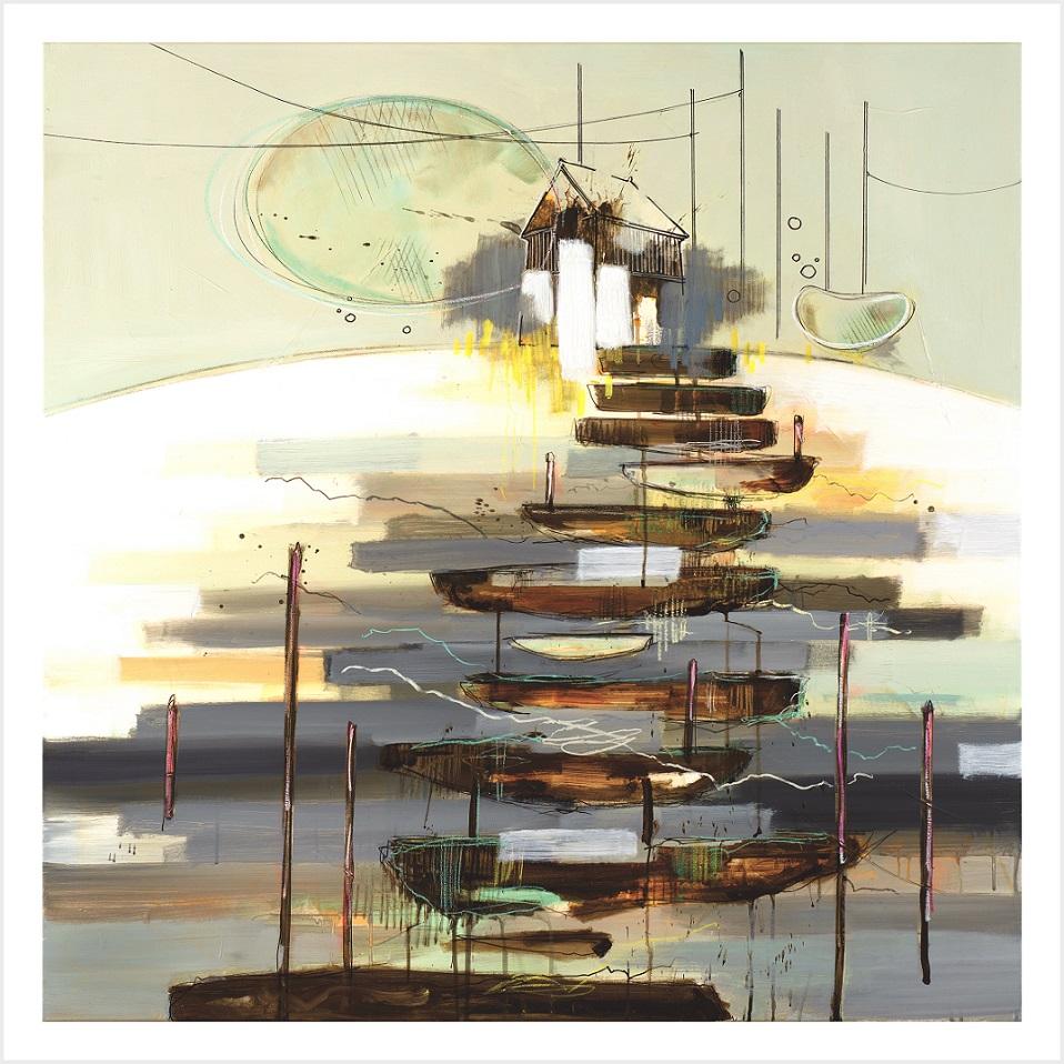 Casper Eliasen Peaceful Place - Art Print