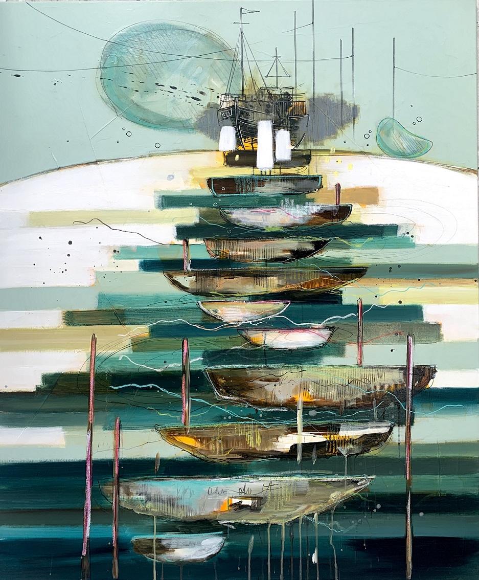Casper Eliasen, A New Beginning. 120x100cm. 15.000 kr.